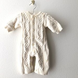 Baby Gap 1 Piece Button Down Bodysuit